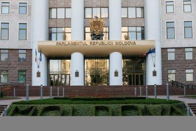 Moldovan parliament