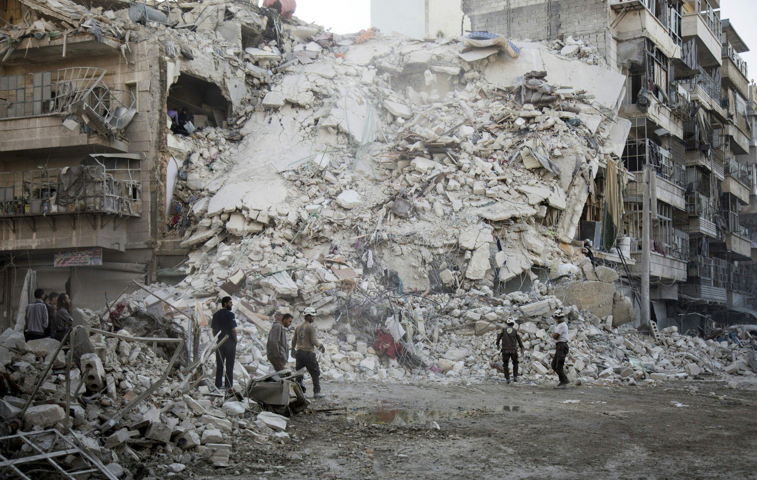 Rebel-held Aleppo