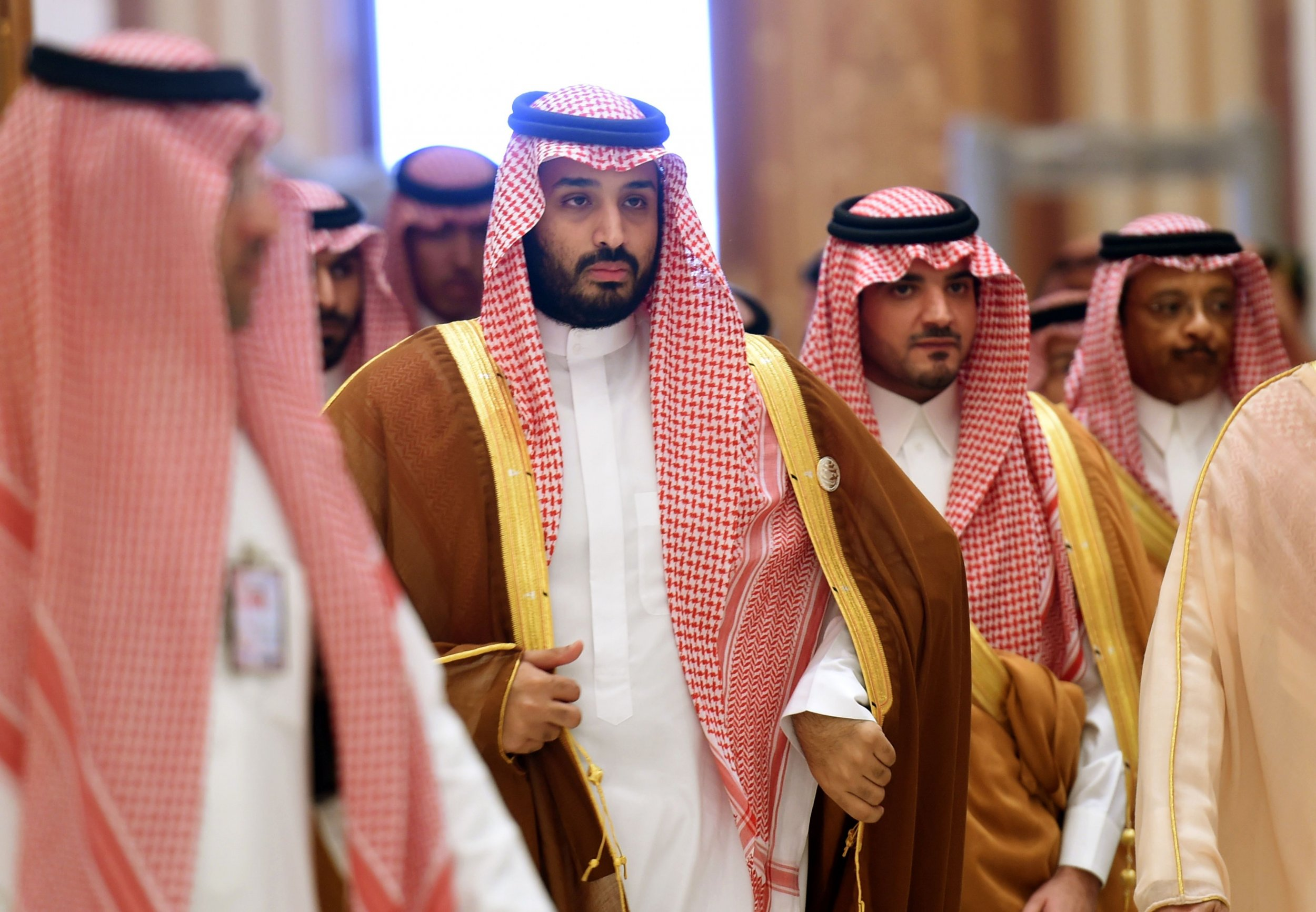 Saudi Defence Minister Mohammed bin Salman