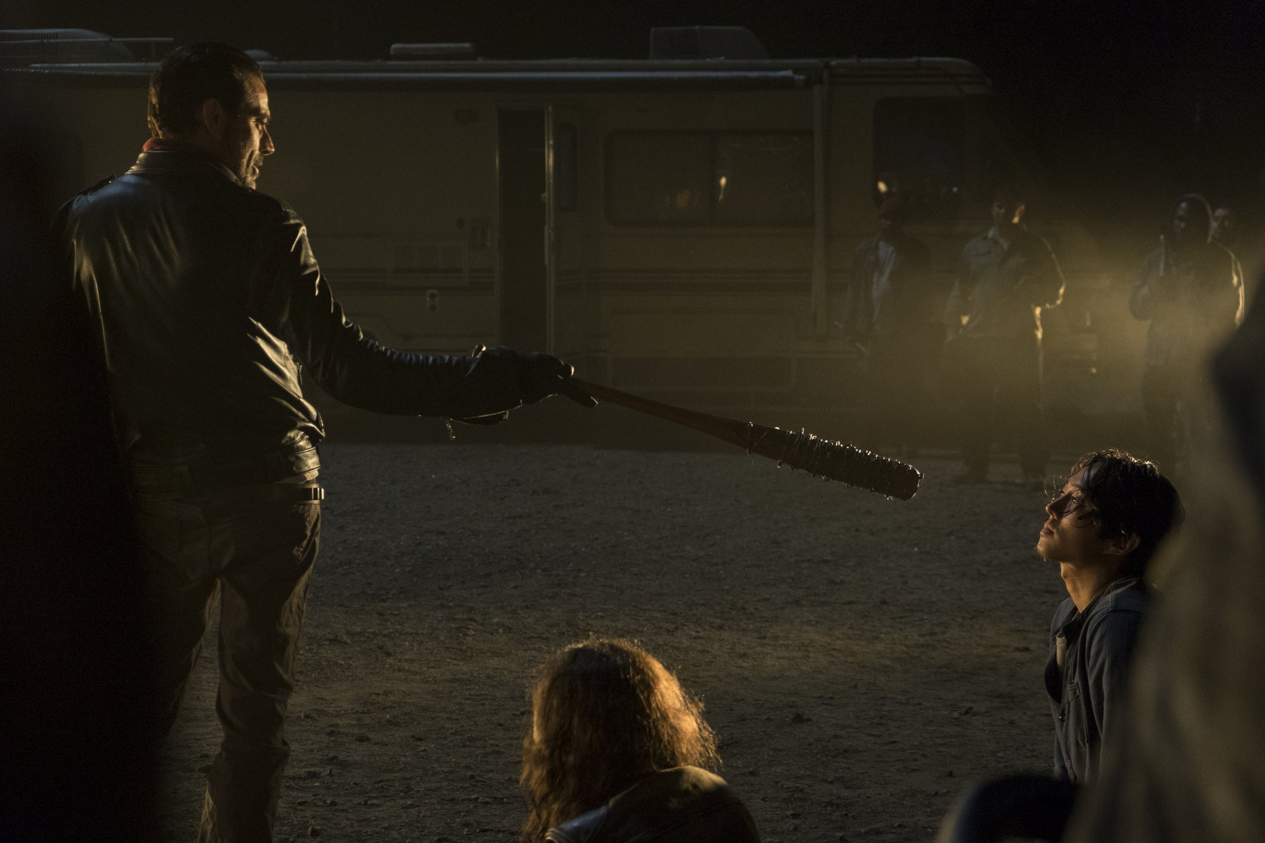 The Walking Dead Finally Reveals Negan S Victim In Bloodiest