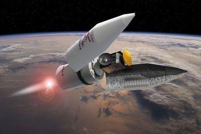 Mars colony Nasa mason peck