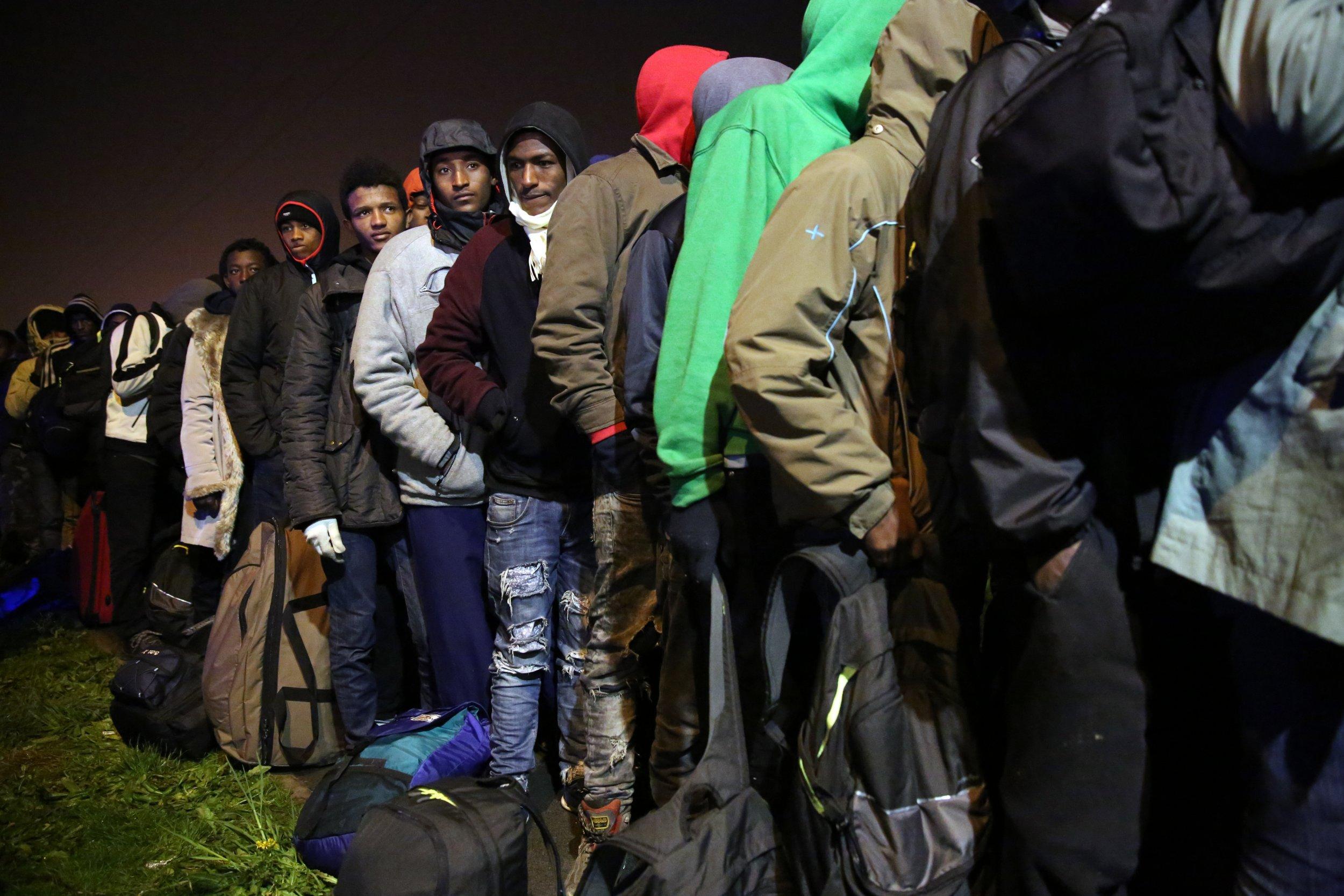 Calais Jungle Dismantled