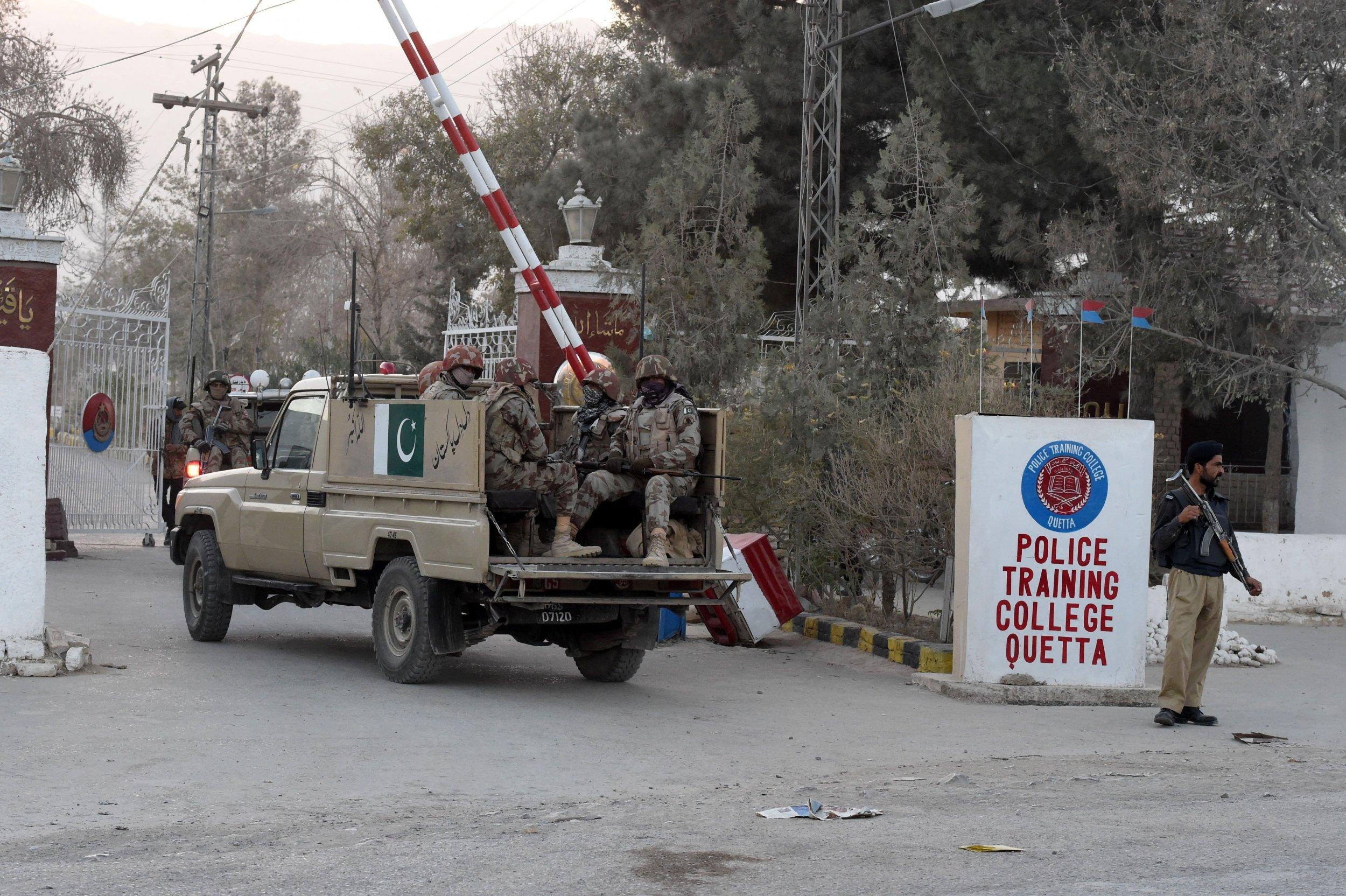 Quetta police college