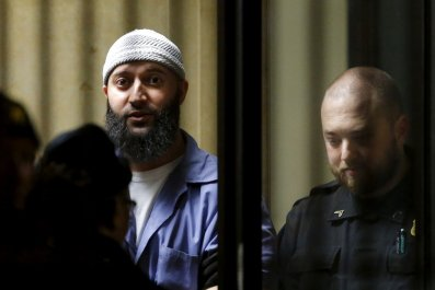 Adnan Syed in court