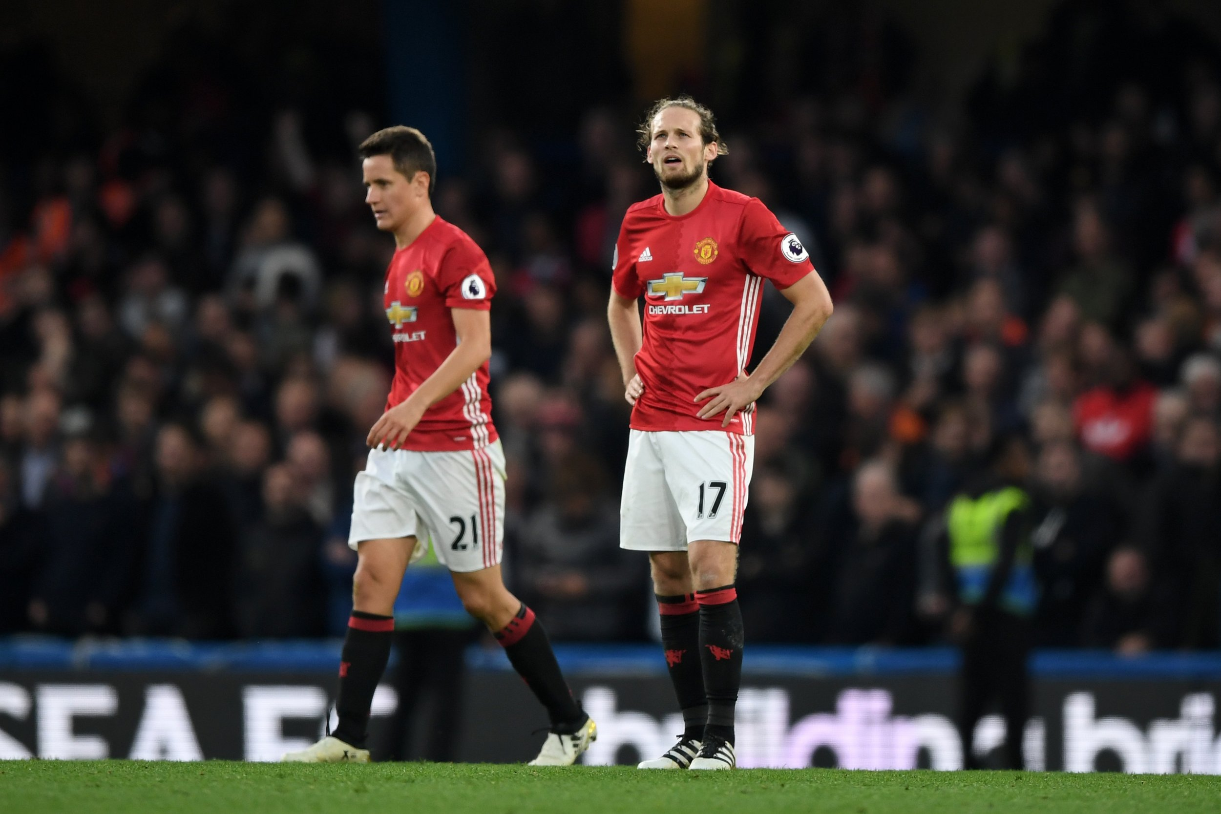 Ander Herrera and Daley Blind