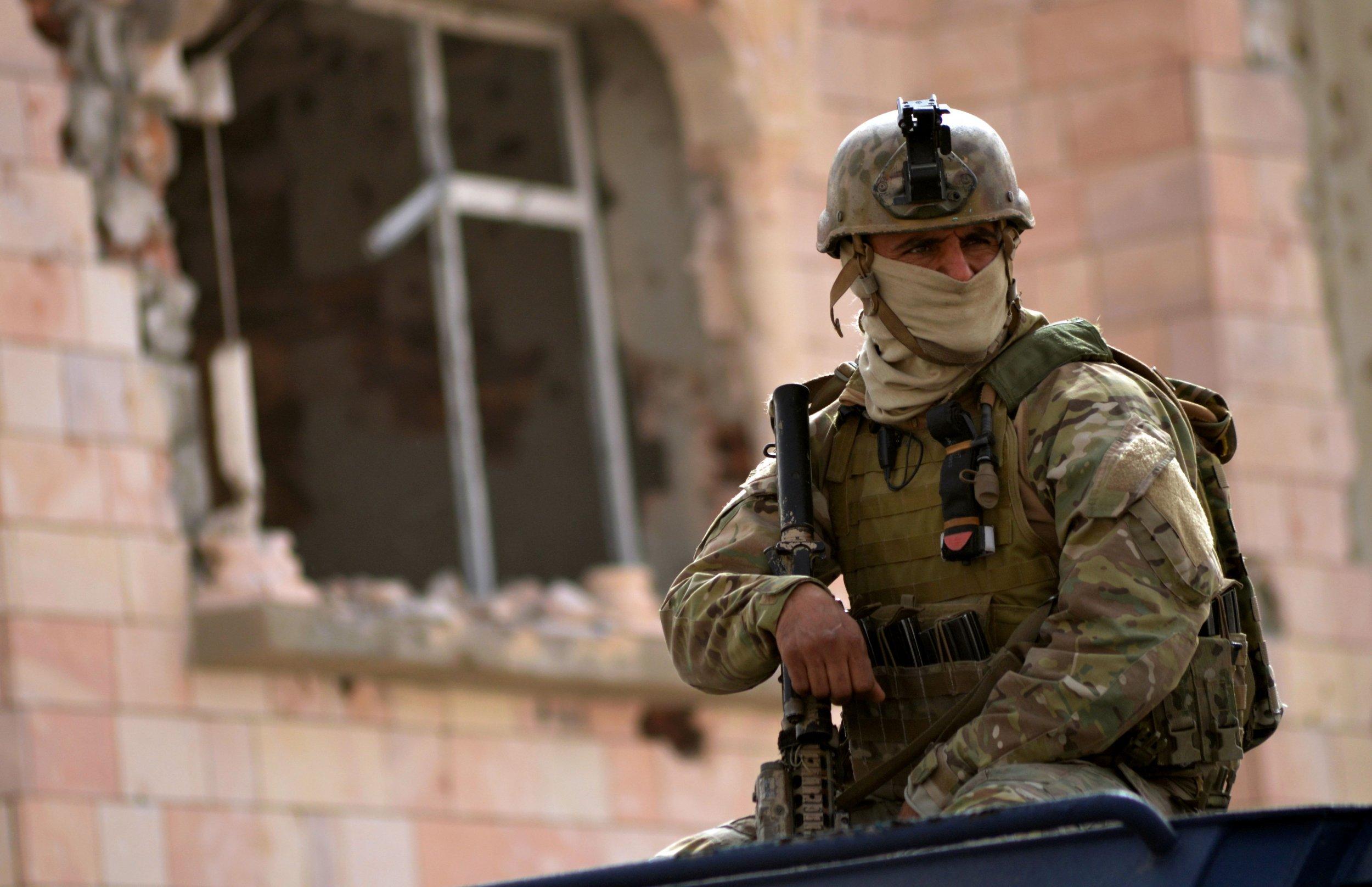 Tunisian Specials Forces