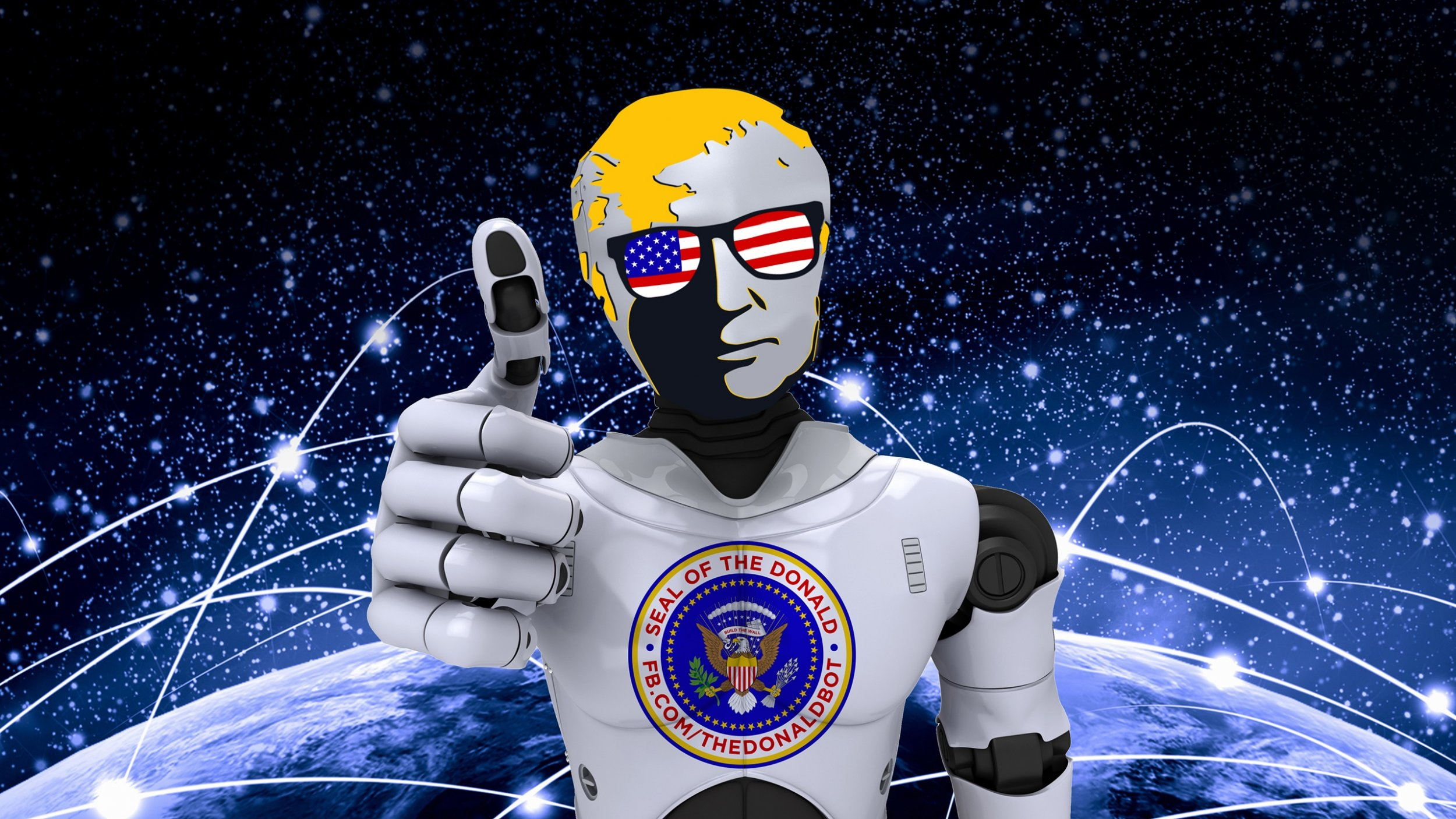 Donald Bot Trump Facebook Messenger