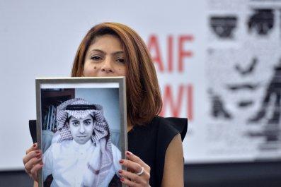Raif Badawi's wife Ensaf