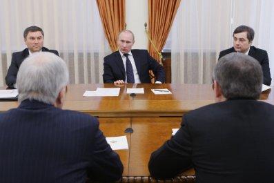 Putin, Surkov and Volodin