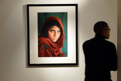 Afghan girl 1984, National Geographic Collection, NYC