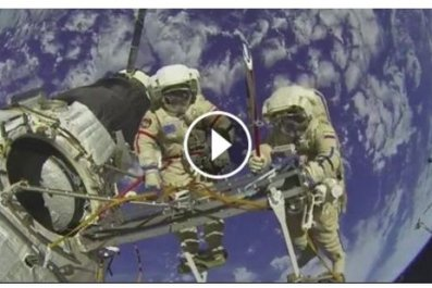 Facebook Live space ISS