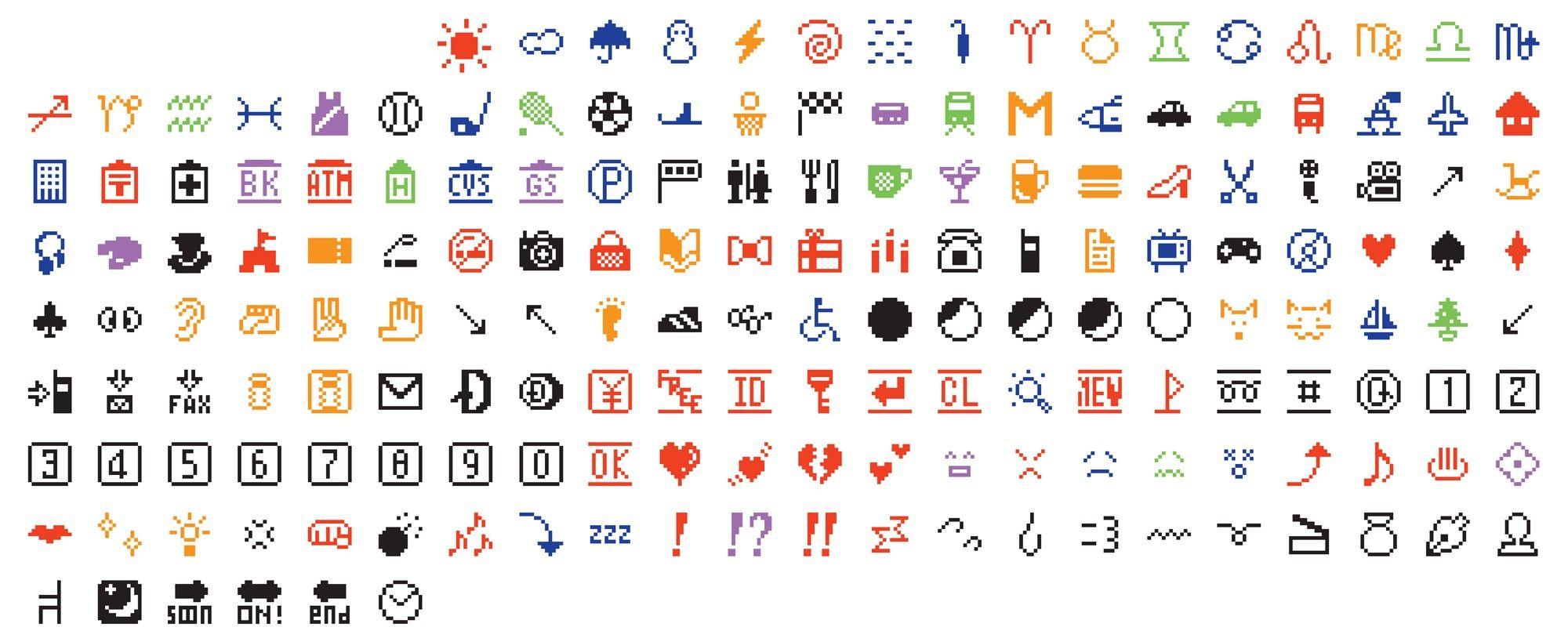 Emojis by NTT Docomo
