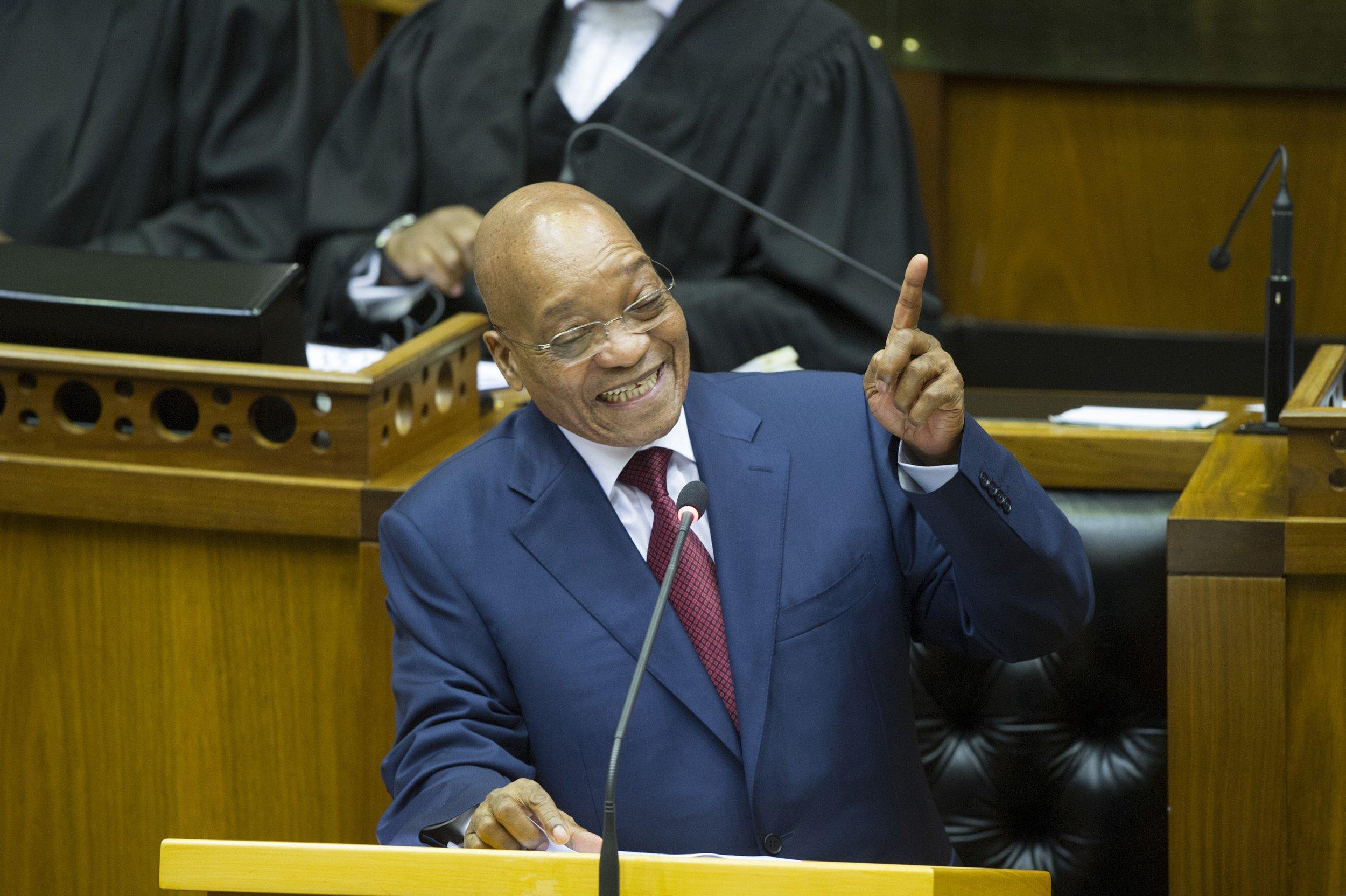 Jacob Zuma parliament