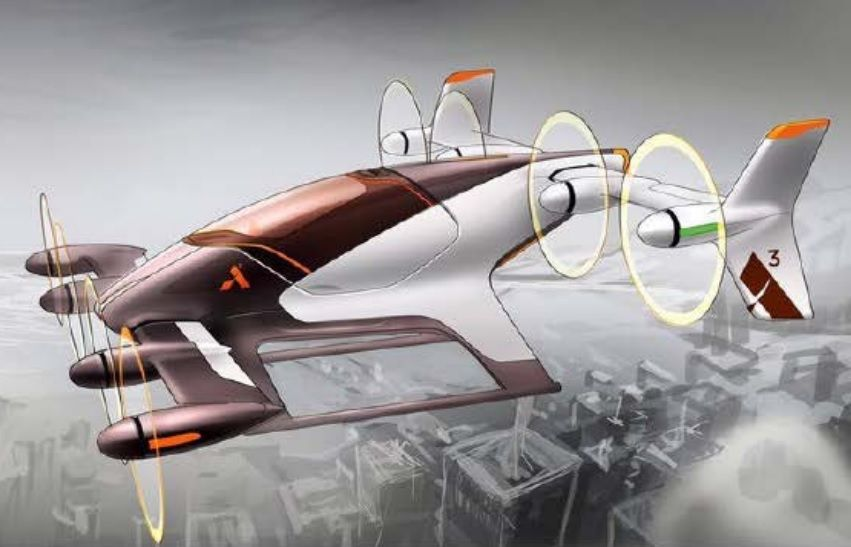 uber flying car white paper