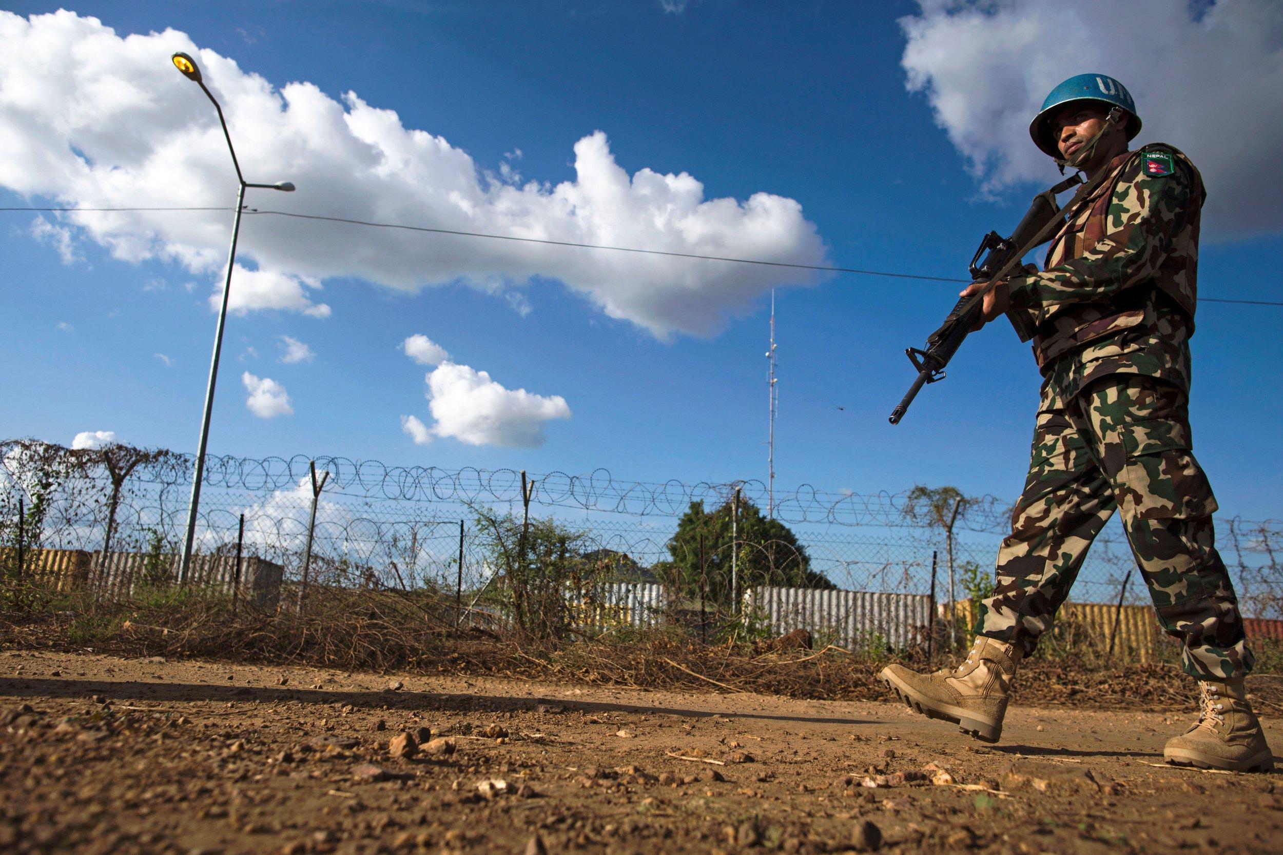 South Sudan U.N. peacekeeper
