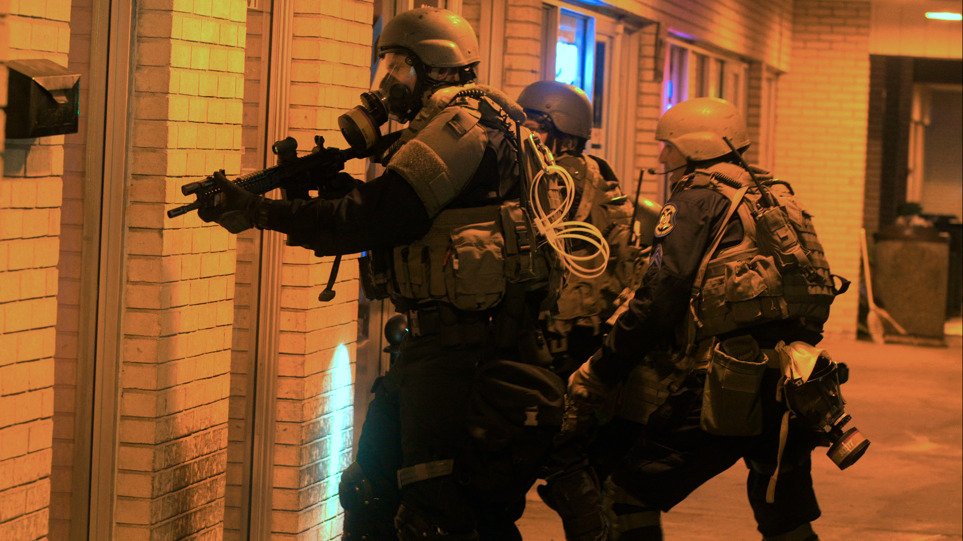 A new documentary looks at the billions of dollars in military equipment local police use
