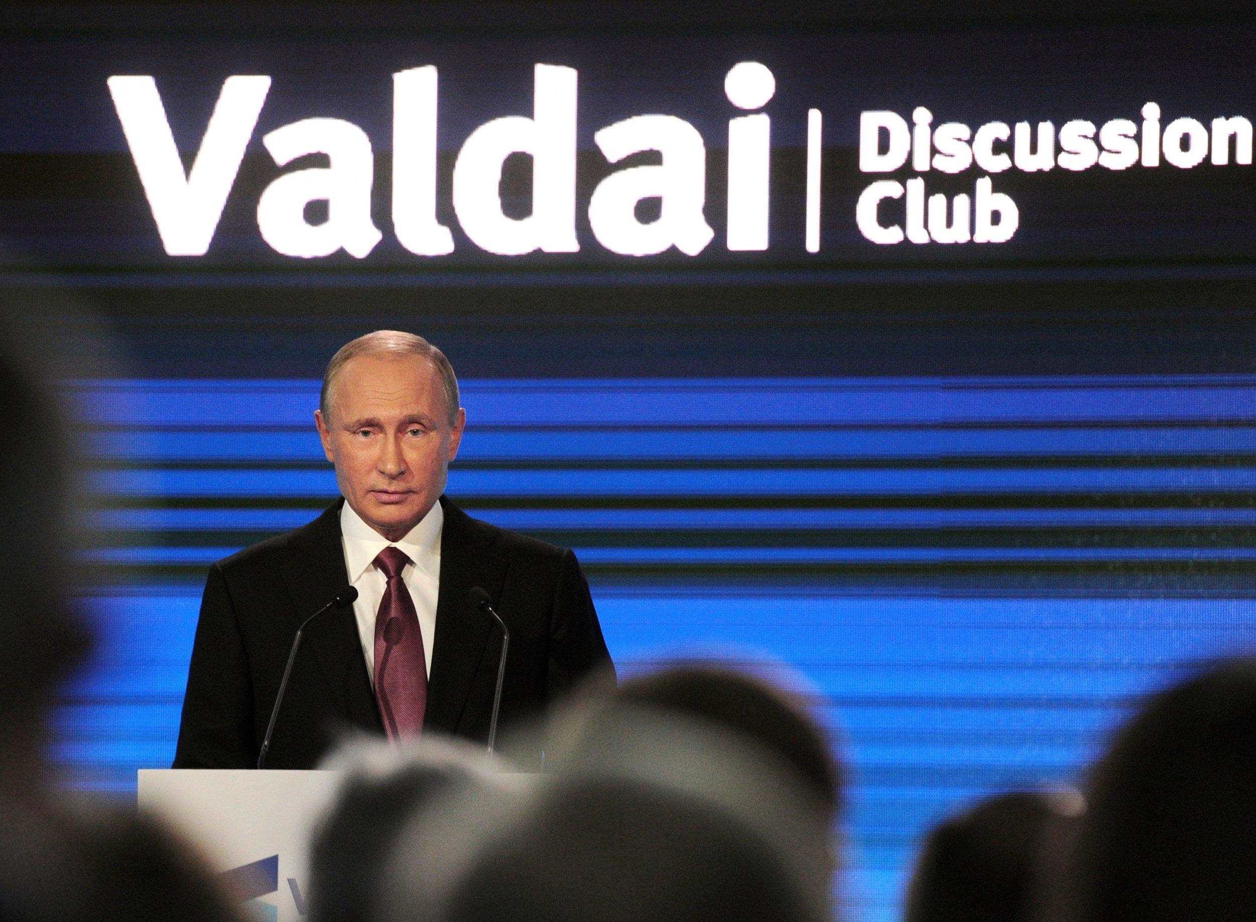 Putin at Valdai Club
