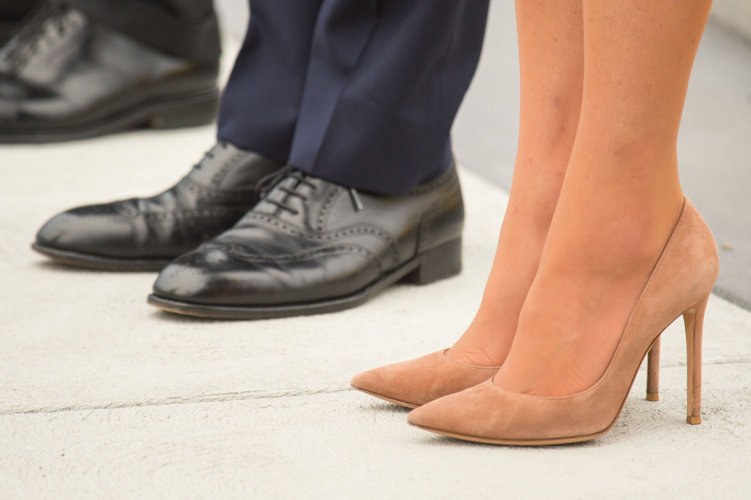 Prince Williams and Kate Middleton feet