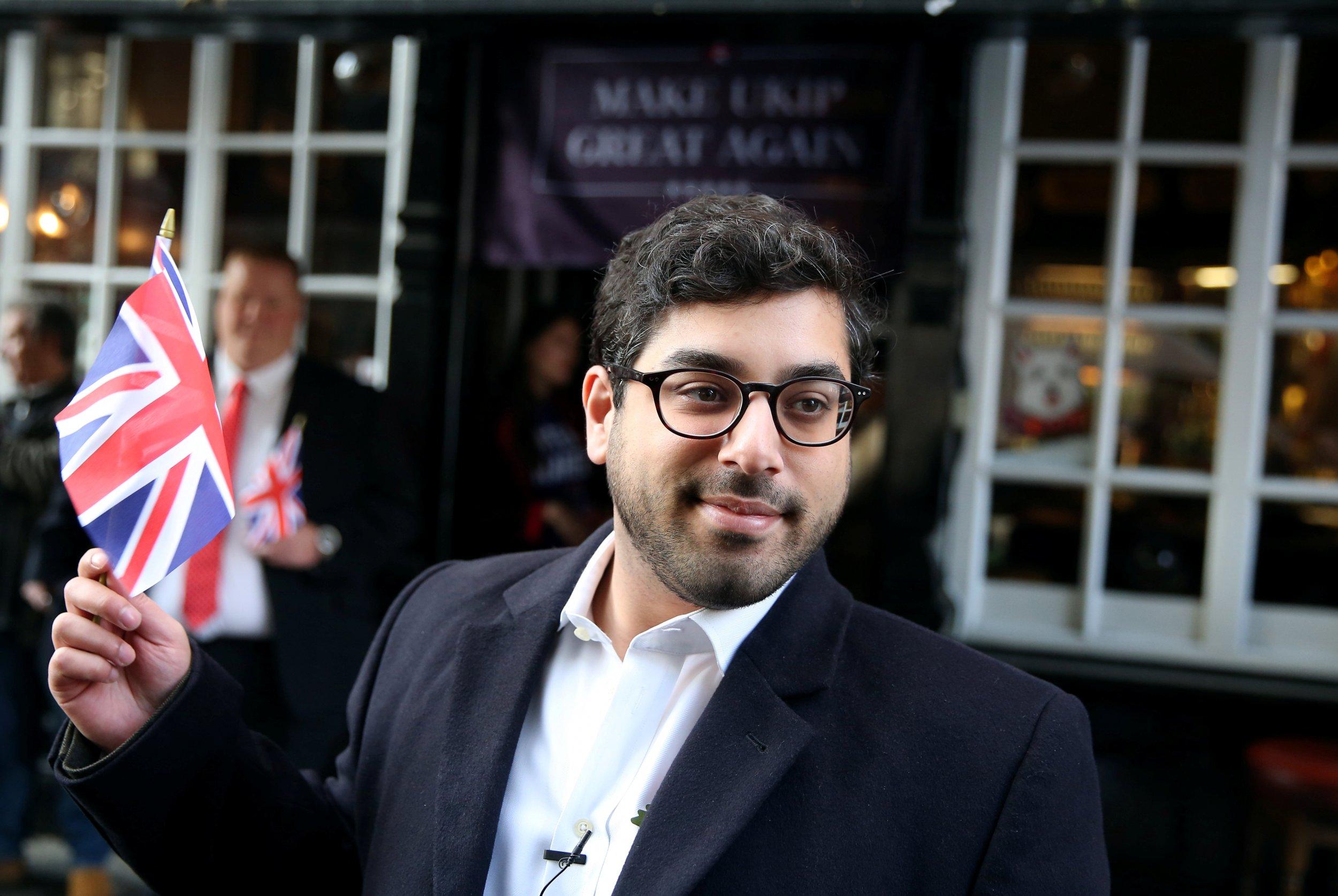 Raheem Kassam UKIP