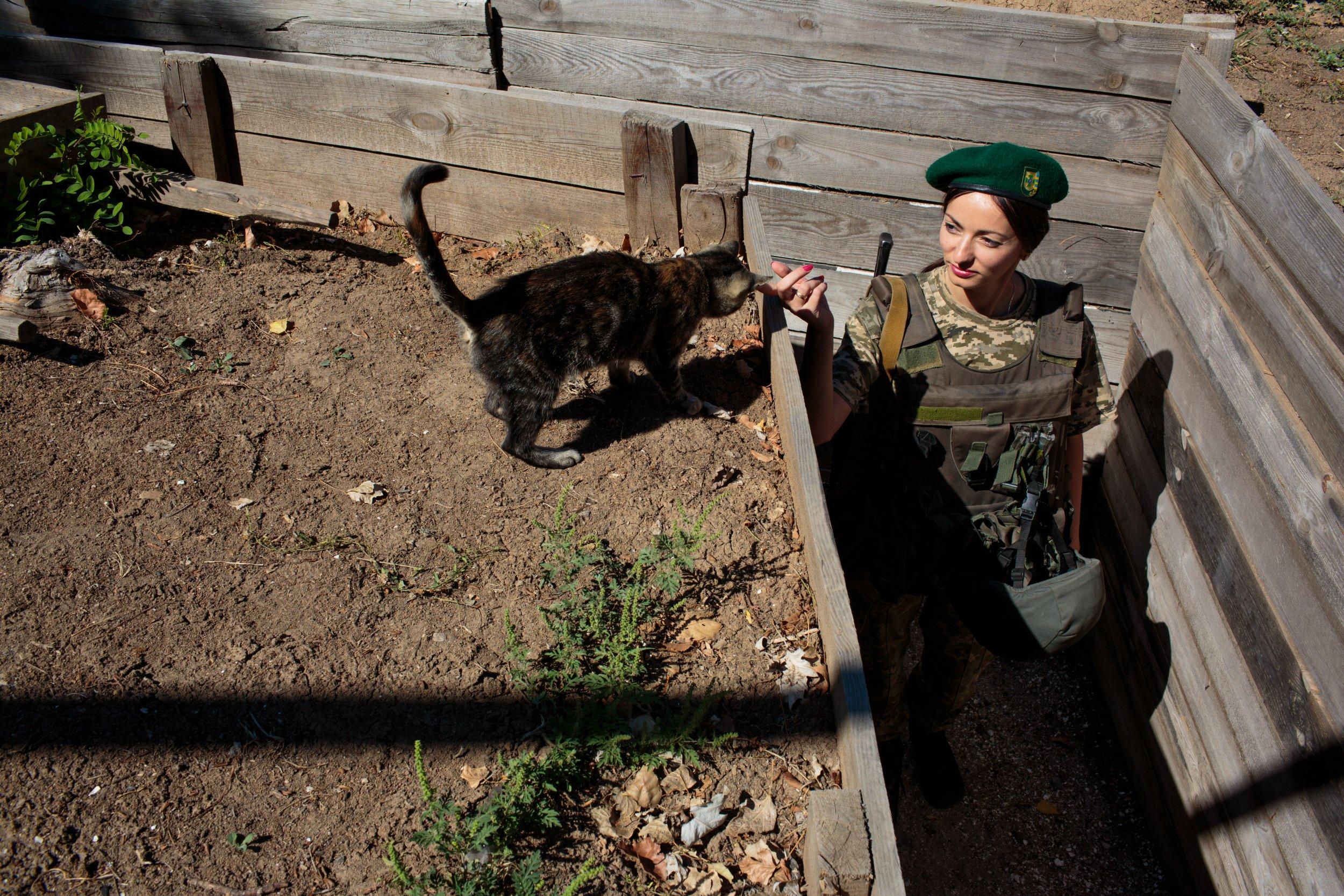 Ukraine female fighter