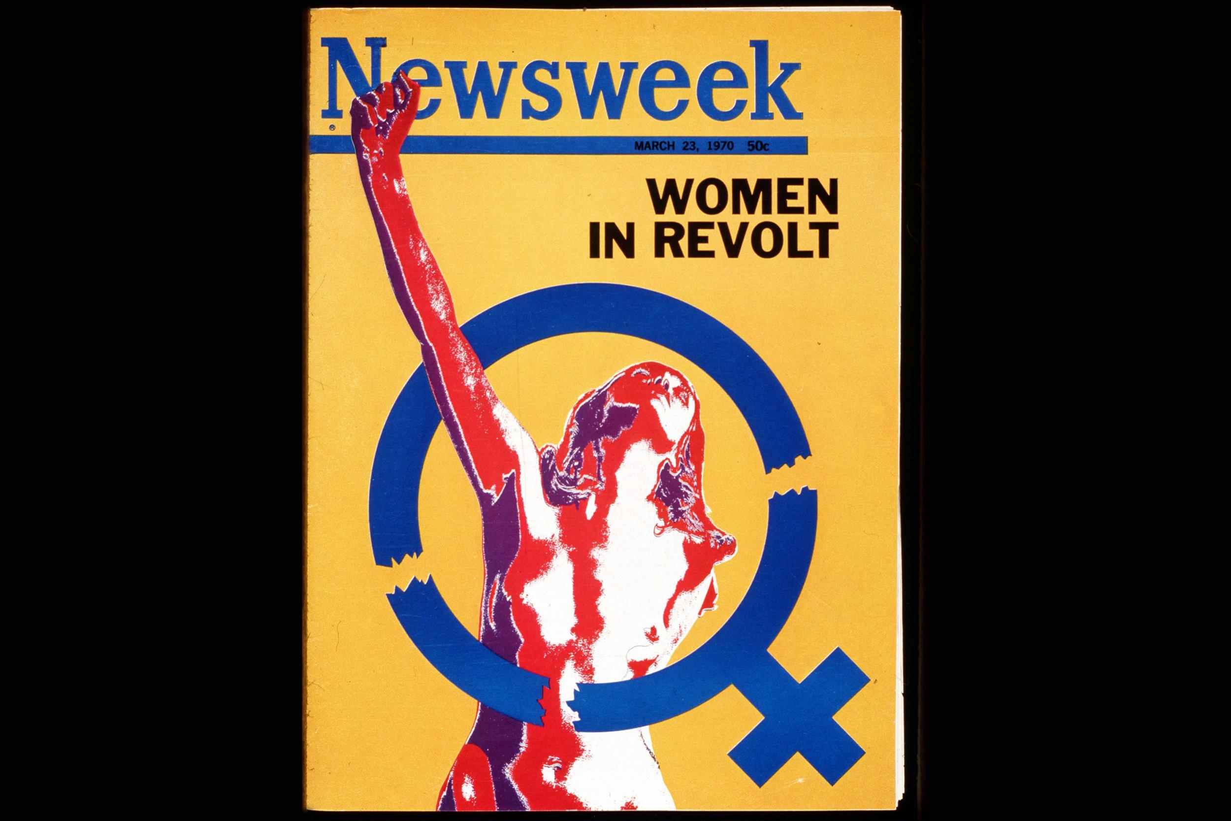 10-28-16 Newsweek cover Women in Revolt