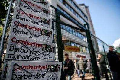 Turkey opposition newspaper