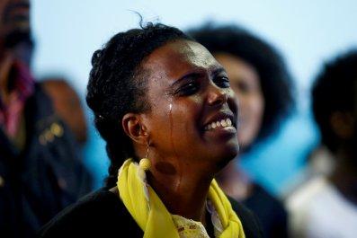 Ethiopia prayer ceremony