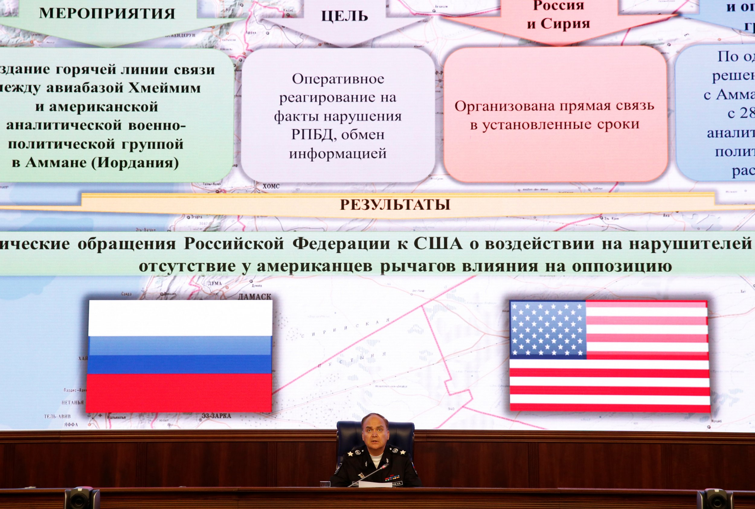 Russian defence spokesman