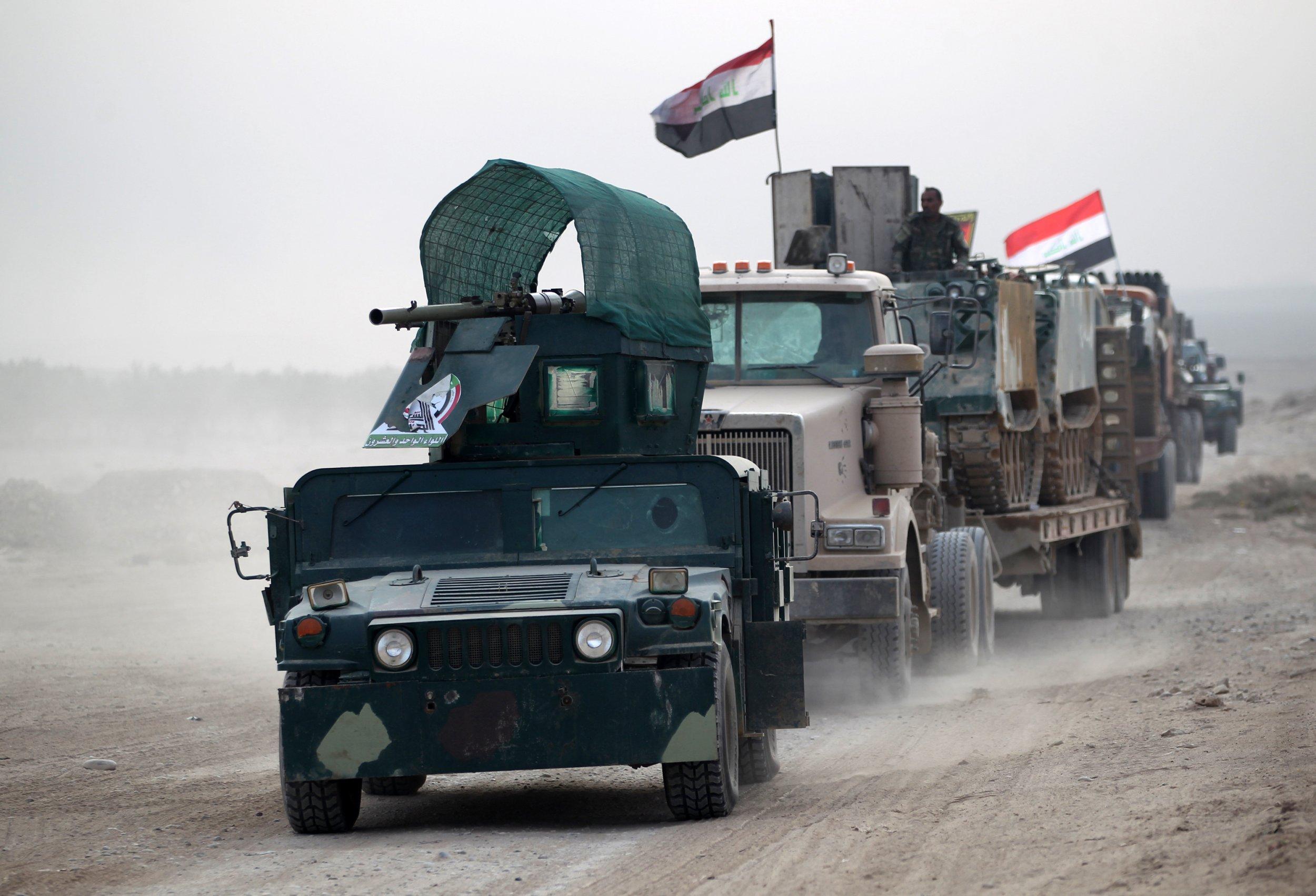 Iraqi offensive on Mosul