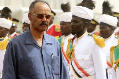 Eritrea president Isaias Afwerki