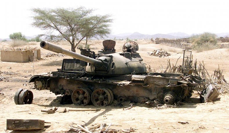 Eritrea tank
