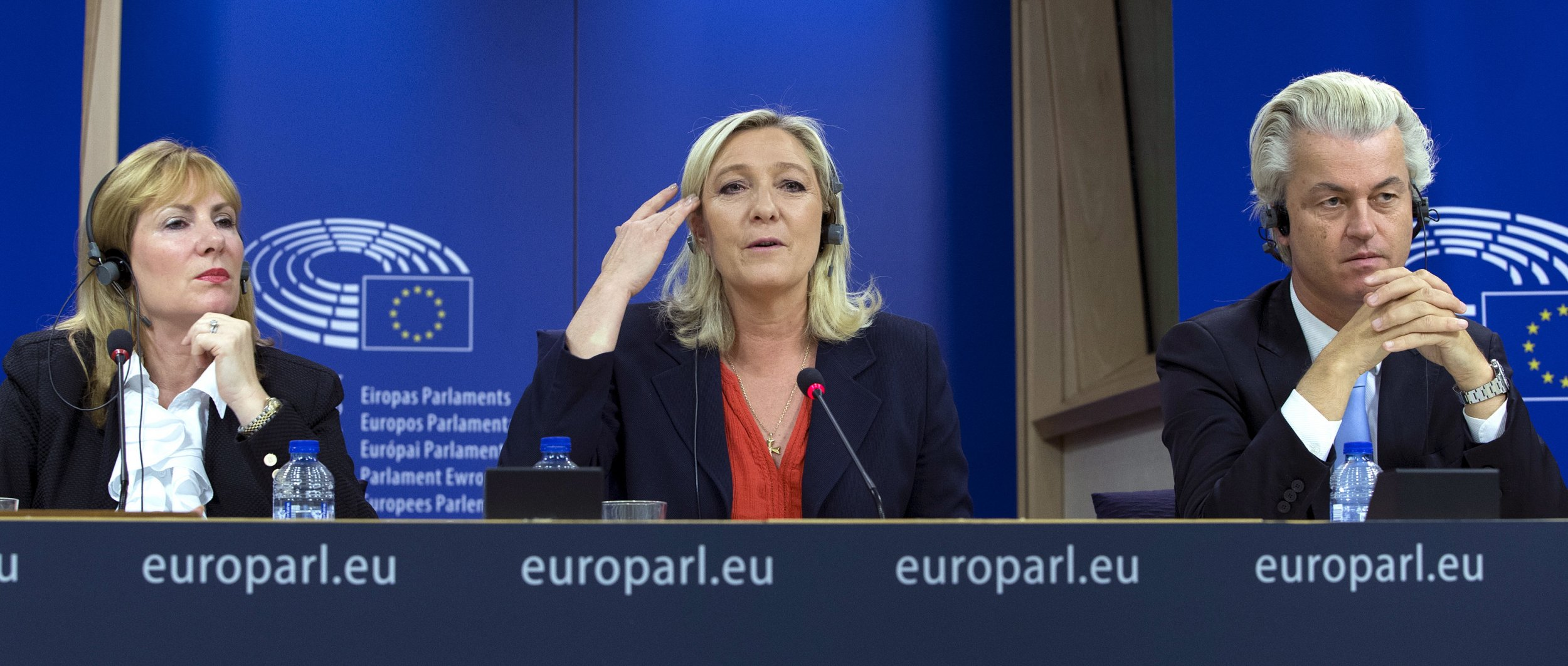 Atkinson, Le Pen and Wilders