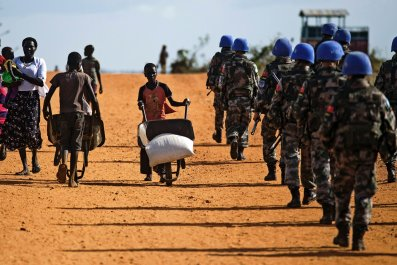 South Sudan peacekeepers