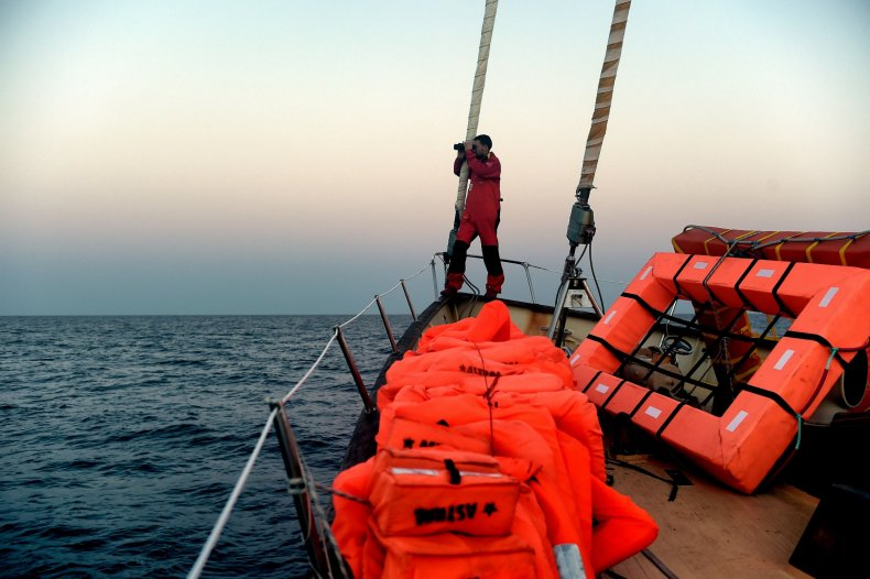 Libya migrant NGO boat