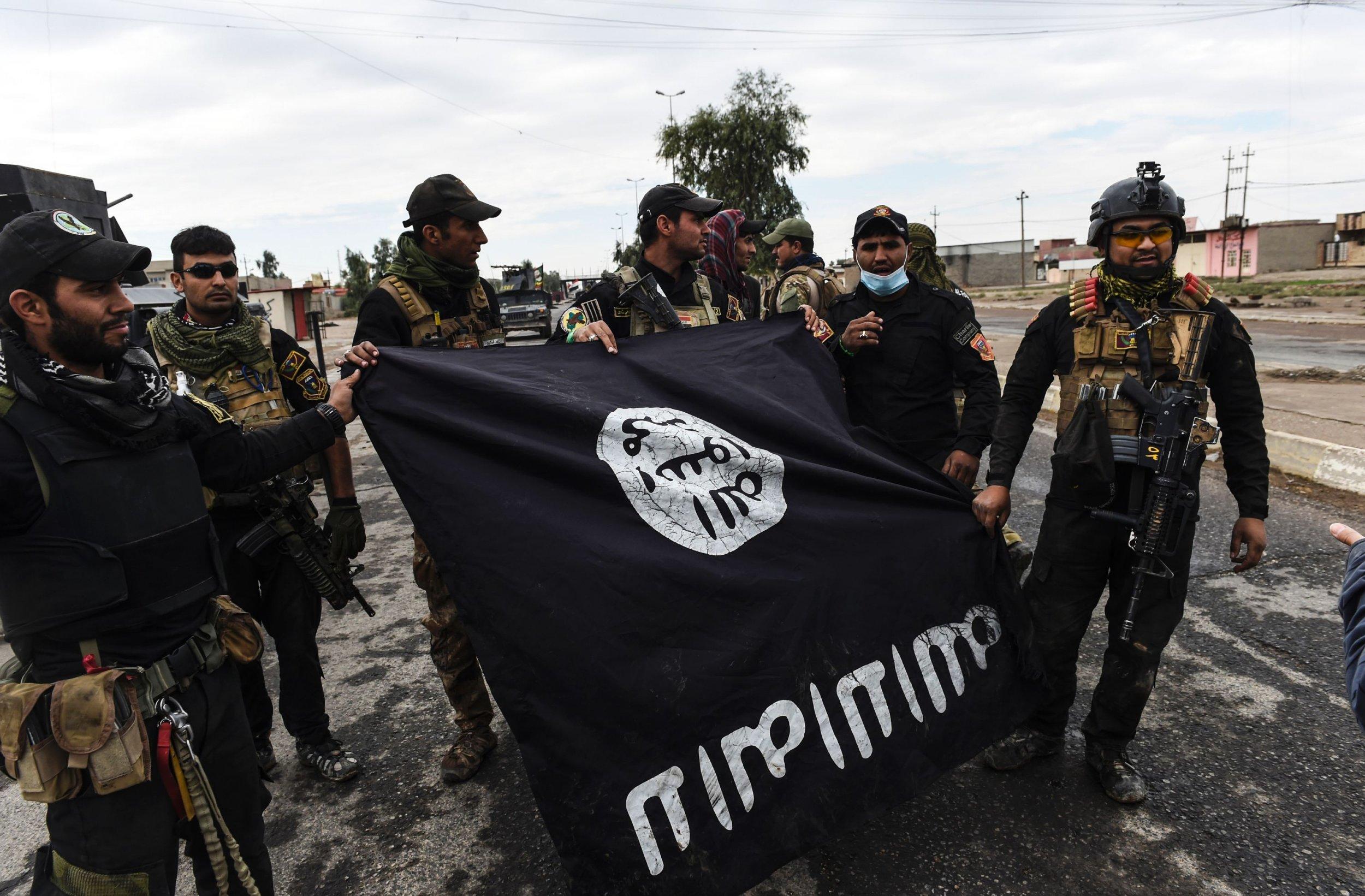 Mosul ISIS flag