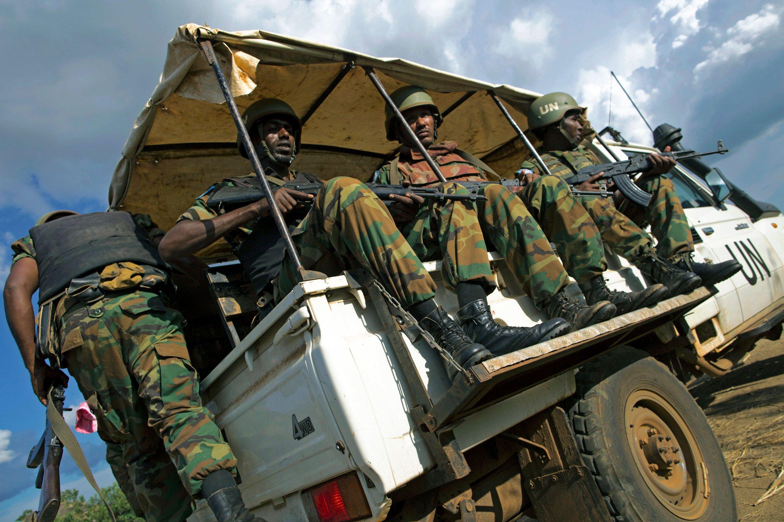 South Sudan peacekeepers