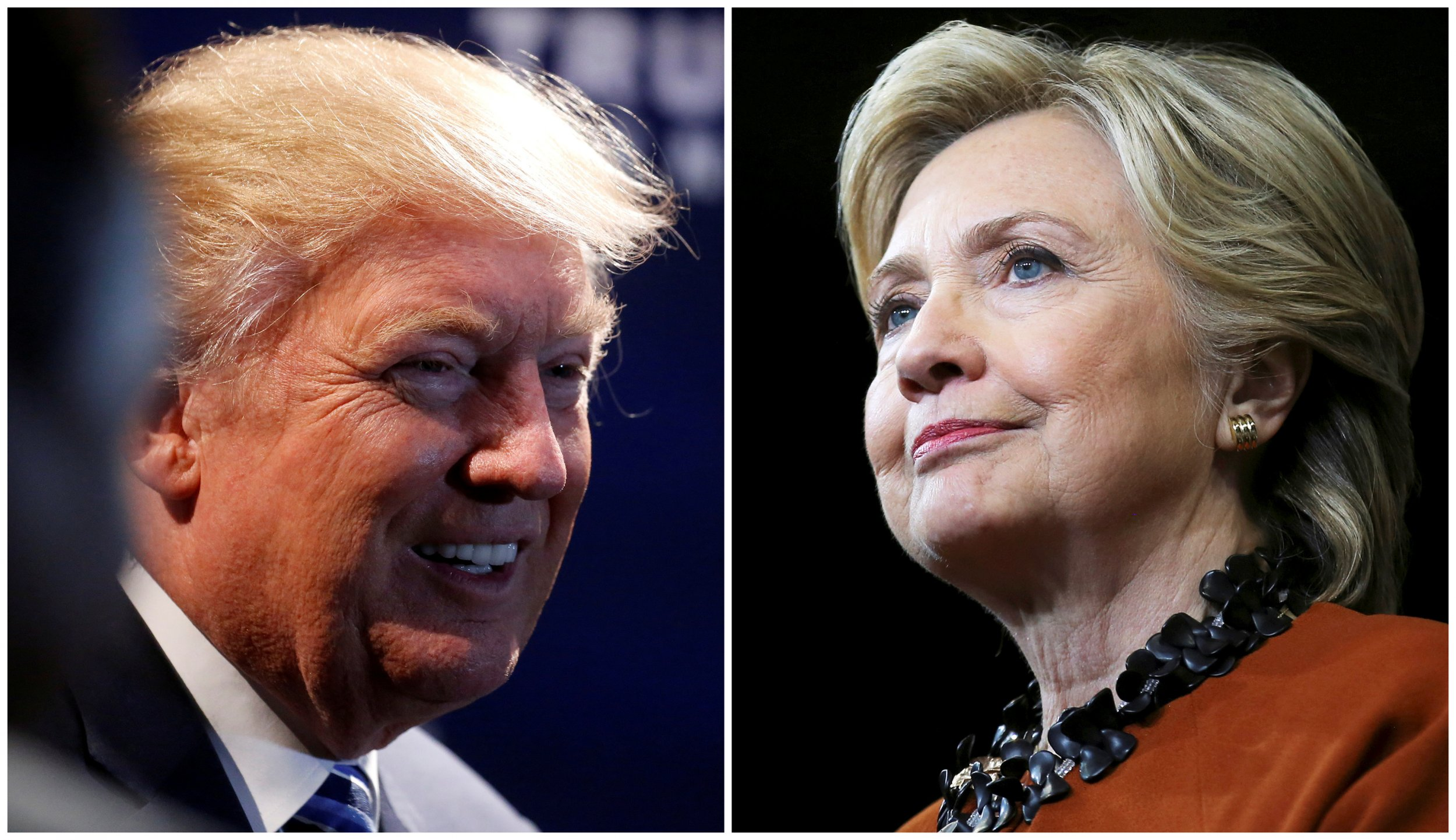 Donald Trump, Hillary Clinton 2016