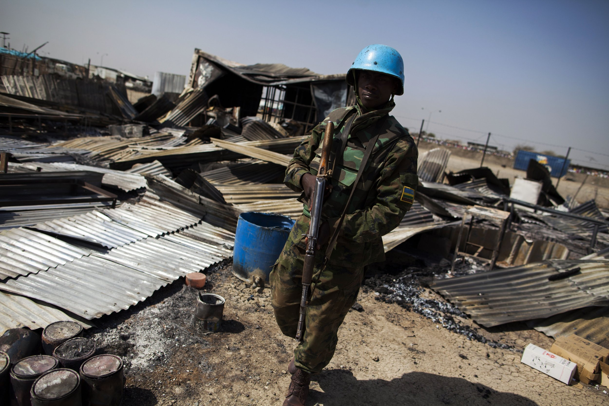 South Sudan peacekeeper