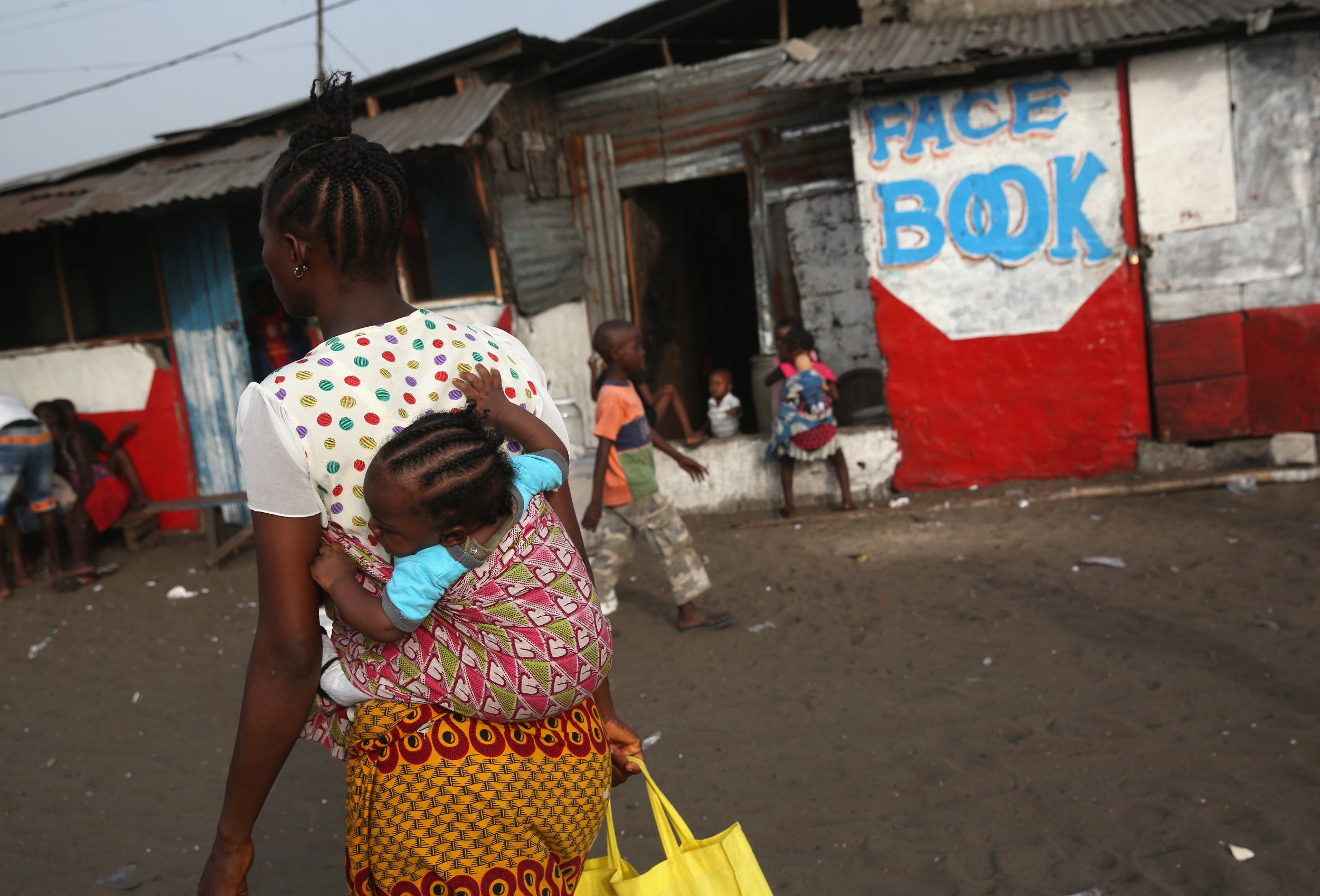 Liberia Internet cafe