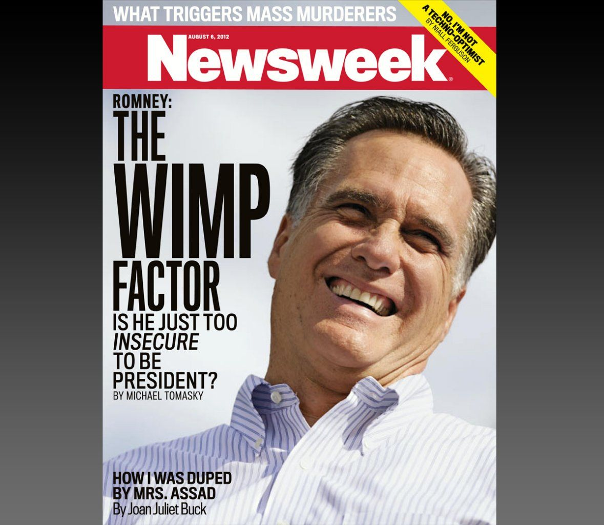 Romney: The Wimp Factor