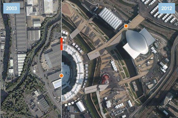 TDB Interactive - London Olympics: Before and After