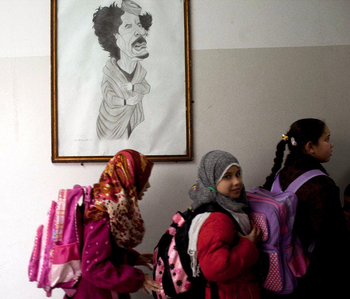 Libya Students at School