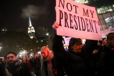 Trump protest NYC