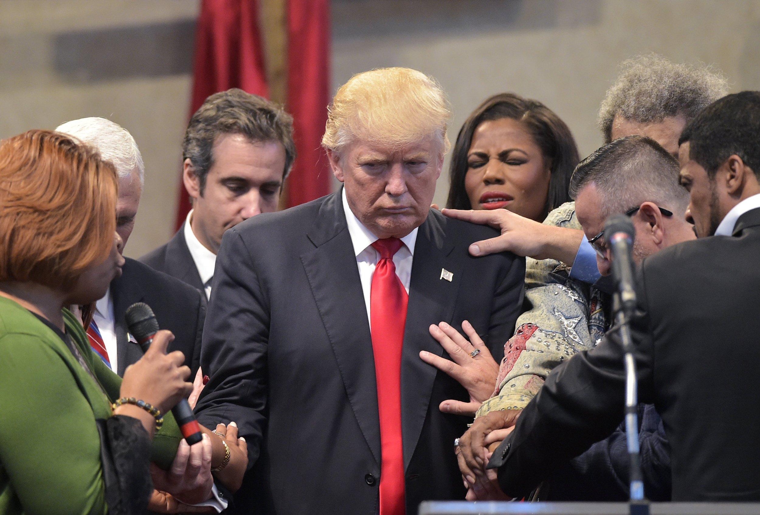 Donald Trump prayers