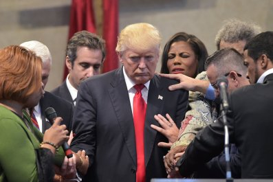 Donald Trump prayers