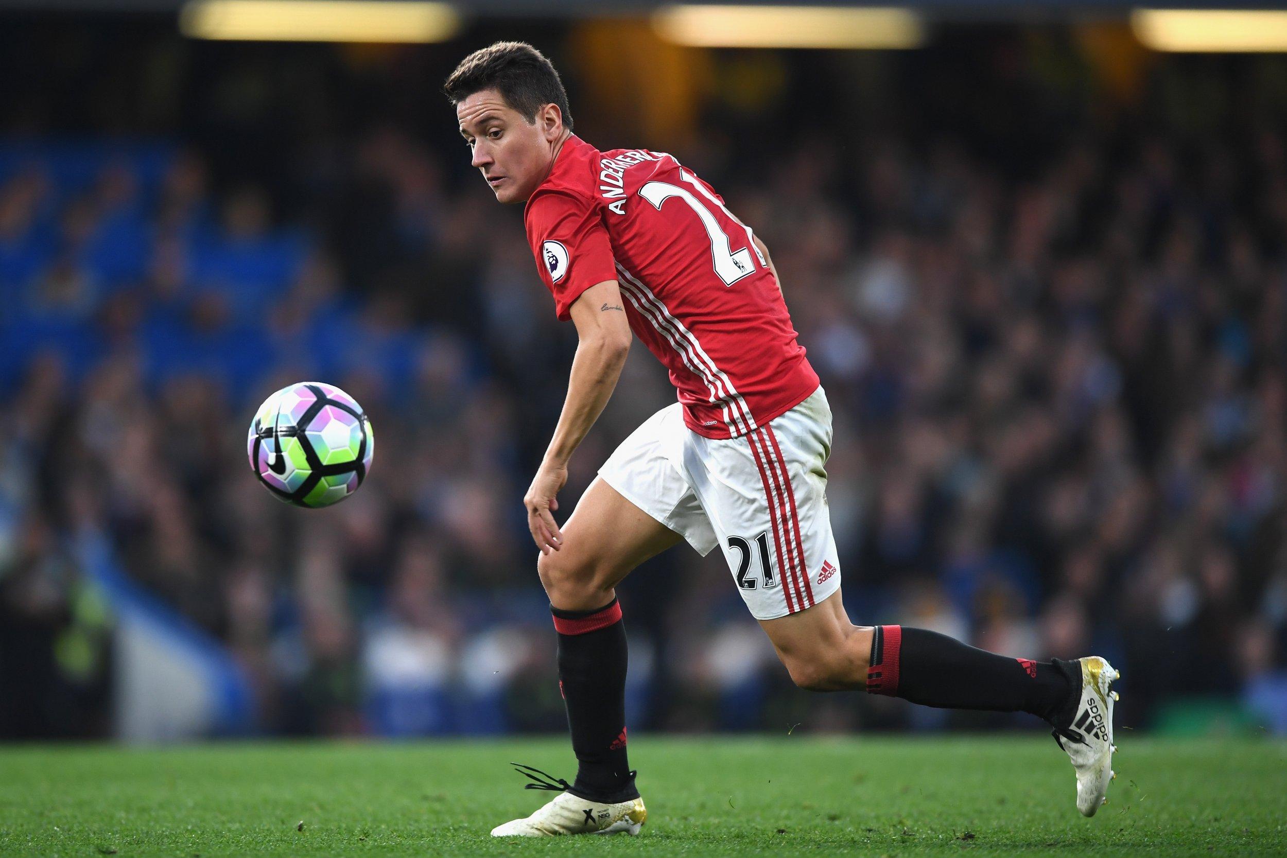 Manchester United midfielder Ander Herrera