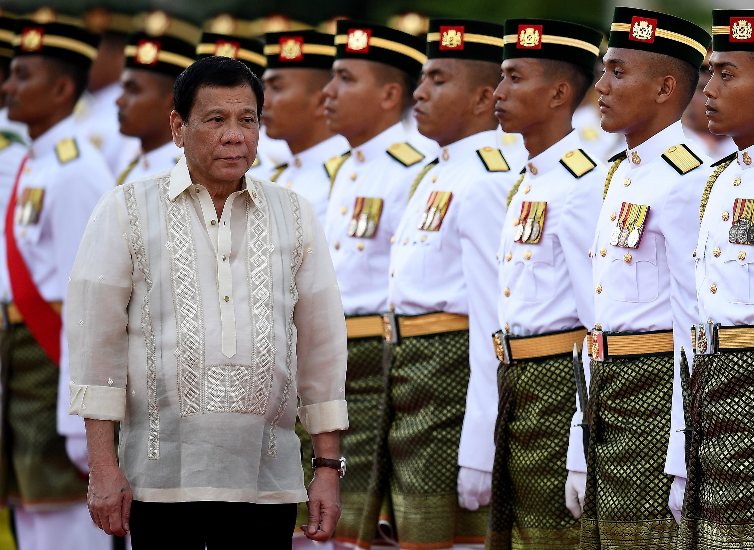 Philippines's Rodrigo Duterte: If ISIS Arrives, Forget About Human Rights