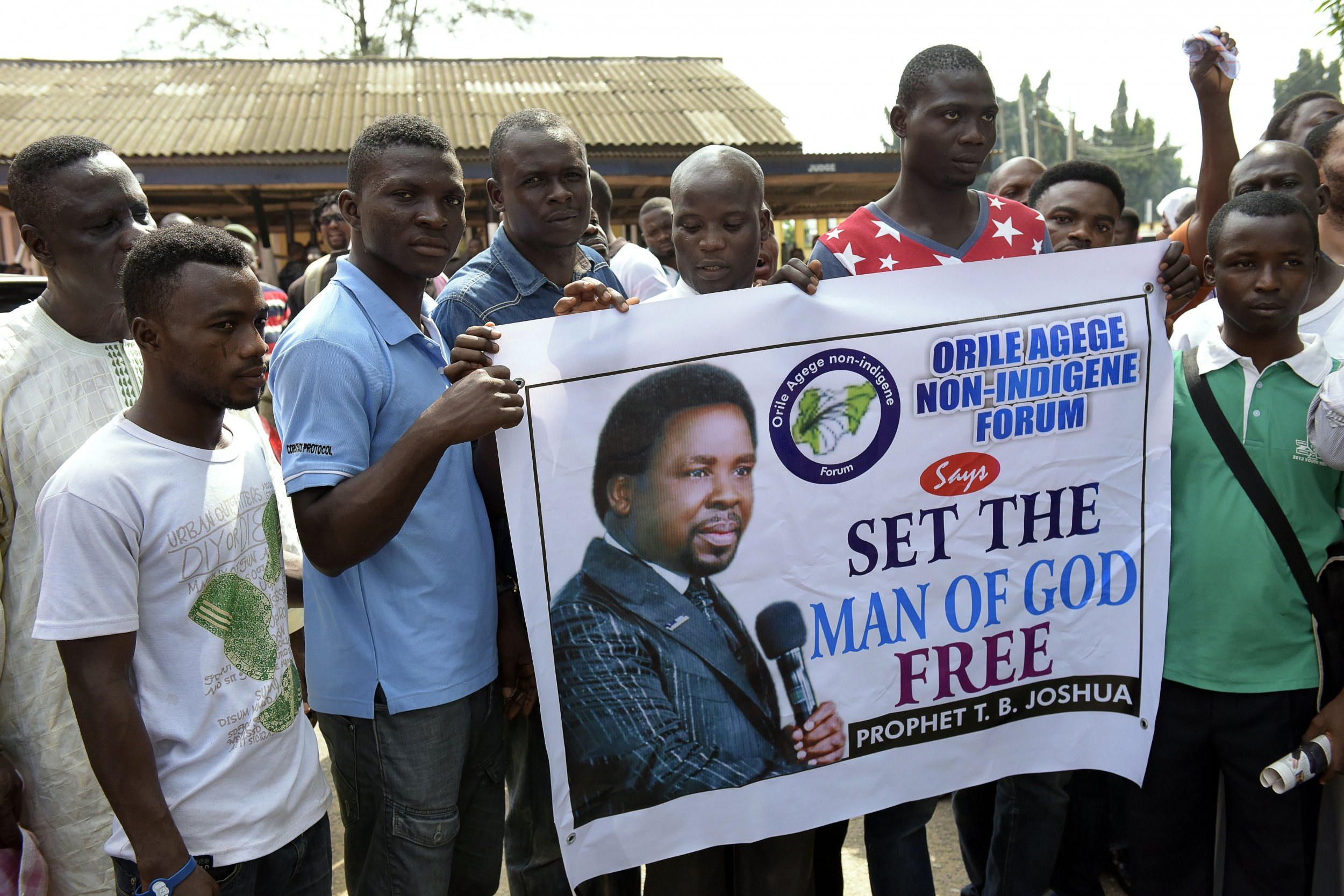 Nigeria S T B Joshua Explains Unfulfilled U S Election