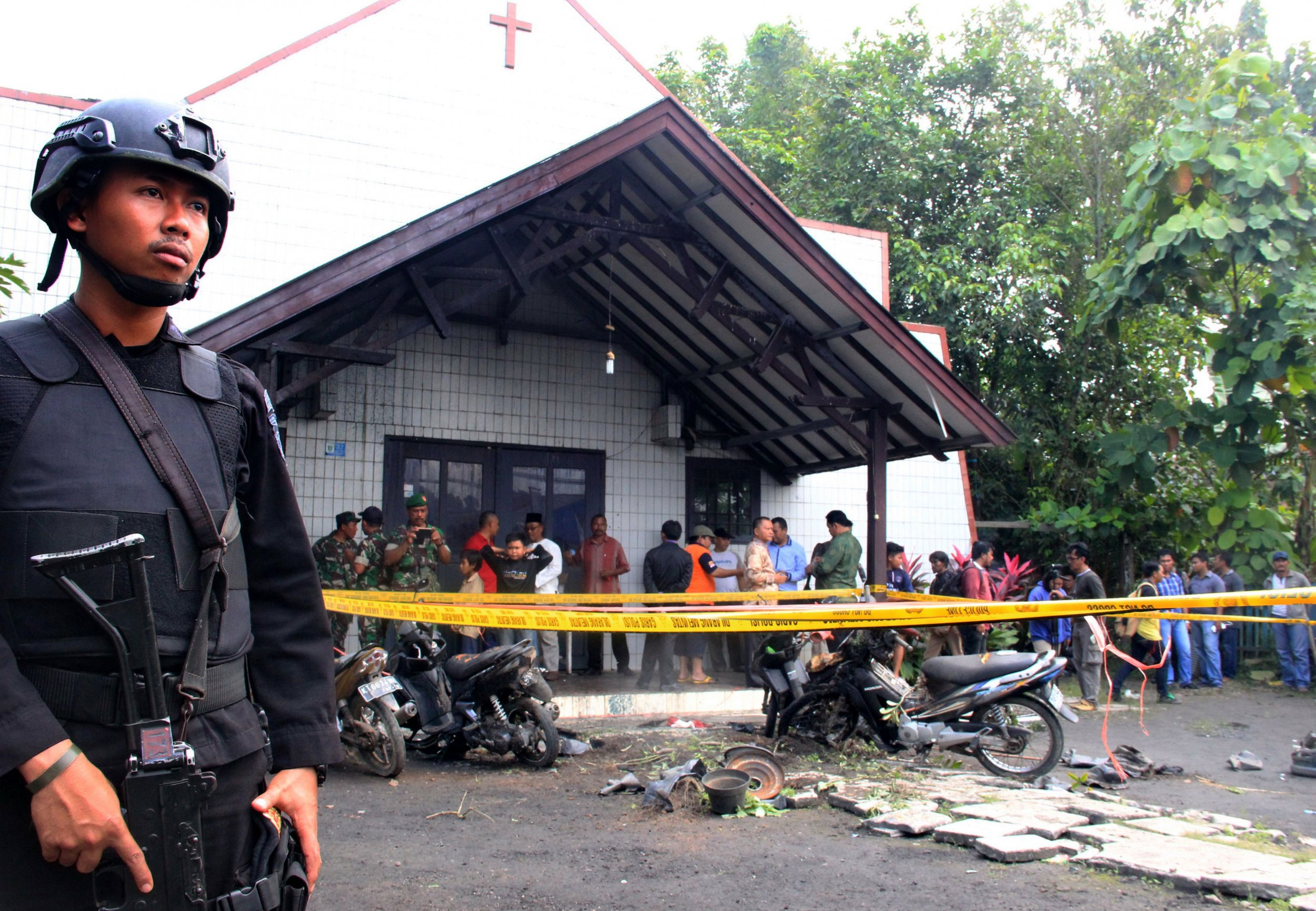 Indonesia attack inspired by ISIS