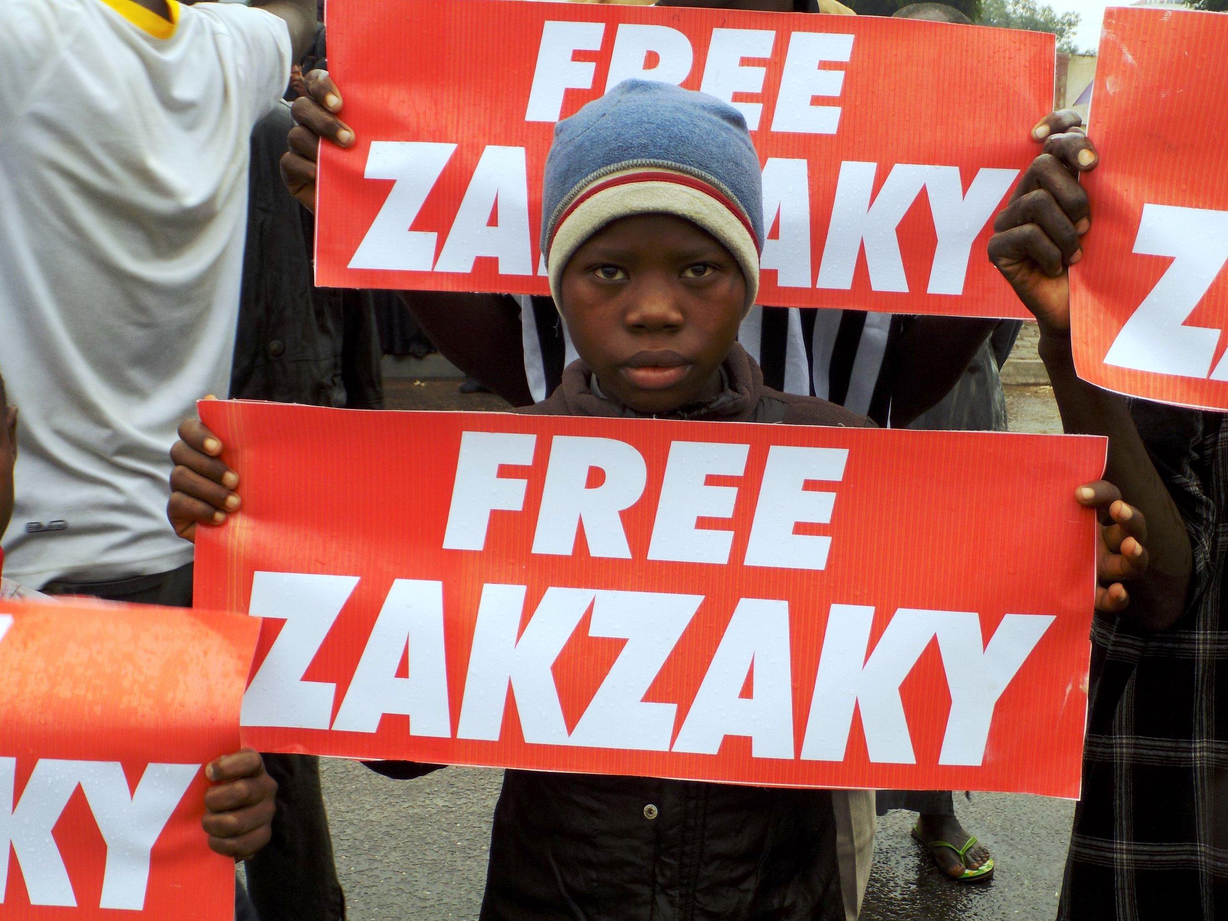 Nigeria IMN protest